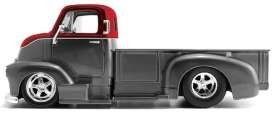 Chevrolet  - COE pick-up 1952 grey/red - 1:24 - Jada Toys - 31544 - jada31544 | The Diecast Company
