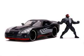 Dodge  - Viper *Venom* 2008 blue-grey - 1:24 - Jada Toys - 31750 - jada31750 | The Diecast Company