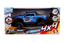 Ford  - Raptor 4x4 RC 2017 blue - 1:12 - Jada Toys - 31580 - jada31580 | The Diecast Company