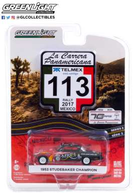 Studebaker  - Champion 1953 red/black - 1:64 - GreenLight - 13280A - gl13280A | The Diecast Company