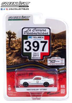 Ford  - Mustang 1965 white - 1:64 - GreenLight - 13280C - gl13280C | The Diecast Company