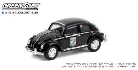 Volkswagen  - Beetle black - 1:64 - GreenLight - 13280F - gl13280F | The Diecast Company