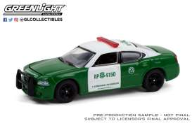 Dodge  - Charger 1987 green/white - 1:64 - GreenLight - 30237 - gl30237 | The Diecast Company