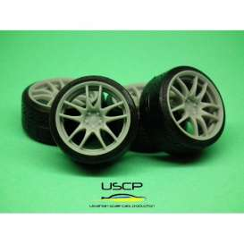 Rims & tires Accessoires - 1:24 - USCP - 24W102 | The Diecast Company