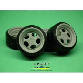 Rims & tires Accessoires - 1:24 - USCP - 24W044 | The Diecast Company