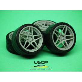 Rims & tires Accessoires - 1:24 - USCP - 24W104 | The Diecast Company