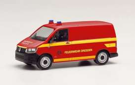 Volkswagen  - T6 red - 1:87 - Herpa - H095426 - herpa095433 | The Diecast Company