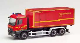 Mercedes Benz  - Arocs red - 1:87 - Herpa - H095464 - herpa095464 | The Diecast Company