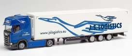 Scania  - CS K.Sz blue/white - 1:87 - Herpa - H312066 - herpa312066 | The Diecast Company