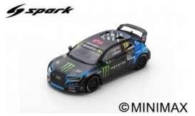 Audi  - Sport S1 2019 black/blue - 1:43 - Spark - S7823 - spaS7823 | The Diecast Company