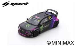 Audi  - Sport S1 2019 black/purple - 1:43 - Spark - S7824 - spaS7824 | The Diecast Company