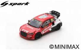 Audi  - Sport S1 2019 red/white - 1:43 - Spark - S7828 - spaS7828 | The Diecast Company