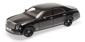 Bentley  - Mulsanne black - 1:18 - Almost Real - 830508 - ALM830508 | The Diecast Company