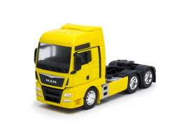 MAN  - TGX (6x4) 2015 yellow - 1:32 - Welly - 32650Ly - welly32650Ly | The Diecast Company