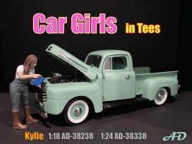 Figures  - Kylie 2020  - 1:24 - American Diorama - 38338 - AD38338 | The Diecast Company