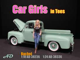 Figures  - Rachel 2020  - 1:24 - American Diorama - 38336 - AD38336 | The Diecast Company
