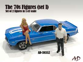 Figures  - 2020  - 1:43 - American Diorama - 38352 - AD38352 | The Diecast Company