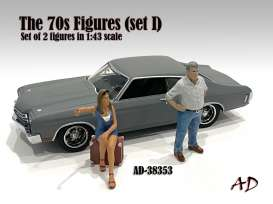 Figures  - 2020  - 1:43 - American Diorama - 38353 - AD38353 | The Diecast Company