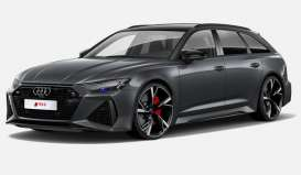 Audi  - RS6 Avant grey - 1:18 - GT Spirit - GT289 - GT289 | The Diecast Company