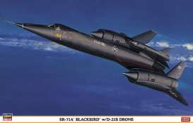 Planes  - SR-71A BLACKBIRD  - 1:72 - Hasegawa - 02041 - has02041 | The Diecast Company