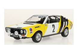 Renault  - R17 MK1 white-yellow-black - 1:18 - Solido - 1803702 - soli1803702 | The Diecast Company