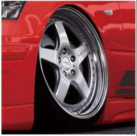 Wheels & tires  - 1:24 - Aoshima - 06113 - abk06113 | The Diecast Company