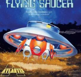 Planes  - The Flying Saucer (invaders)   - 1:72 - Atlantis - A256 - AMCA256 | The Diecast Company