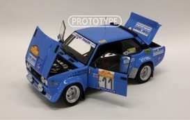 Fiat  - 131 Abarth 1978 blue - 1:18 - Kyosho - 8376C - kyo8376C | The Diecast Company
