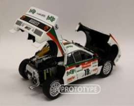 Lancia  - Rally 037 1983 white/red/green - 1:18 - Kyosho - 8306B - kyo8306B | The Diecast Company