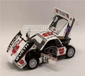 Lancia  - Rally 037 1983 white/red/black - 1:18 - Kyosho - 8306C - kyo8306C | The Diecast Company