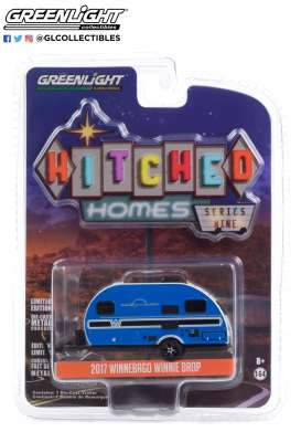 Winnebago  - Winnie Drop 2017 blue - 1:64 - GreenLight - 34090D - gl34090D | The Diecast Company