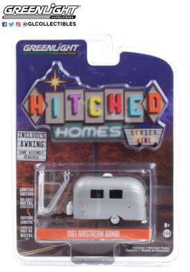 Airstream  - Bambi grey - 1:64 - GreenLight - 34090F - gl34090F | The Diecast Company