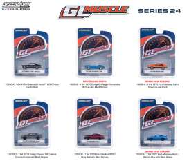 Assortment/ Mix  - various - 1:64 - GreenLight - 13290 - gl13290 | The Diecast Company
