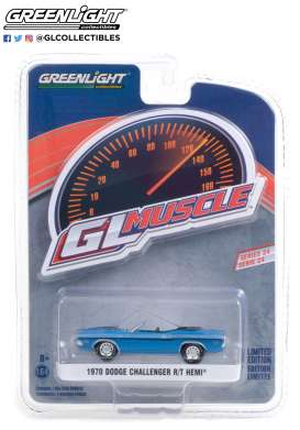 Dodge  - Challenger 1970 blue - 1:64 - GreenLight - 13290B - gl13290B | The Diecast Company