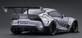 Rocket Bunny  - Pandem Supra silver - 1:18 - Ignition - IG2038 - IG2038 | The Diecast Company