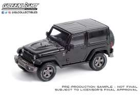 Jeep  - Wrangler 2016 black - 1:43 - GreenLight - 86187 - gl86187 | The Diecast Company