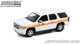 Chevrolet  - Tahoe 2011 white - 1:43 - GreenLight - 86189 - gl86189 | The Diecast Company