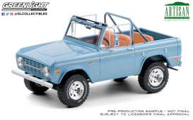 Ford  - Bronco 1969 blue - 1:18 - GreenLight - 19099 - gl19099 | The Diecast Company