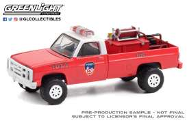 Chevrolet  - M1008 1986 red - 1:64 - GreenLight - 30240 - gl30240 | The Diecast Company