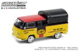 Volkswagen  - Doka 1968  - 1:64 - GreenLight - 35180A - gl35180A | The Diecast Company