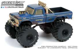 Ford  - F-250 Monster Truck 1974 dirty version - 1:43 - GreenLight - 88041 - gl88041 | The Diecast Company