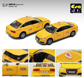 Audi  - A6 yellow - 1:64 - Era - AU20A6SP23 - Era20A6SP23 | The Diecast Company