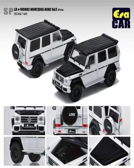 Mercedes Benz  - G63 AMG 2019 white - 1:64 - Era - Era204x4SP27 - Era204x4SP27 | The Diecast Company