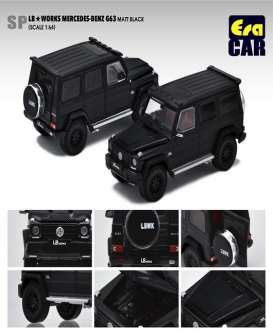 Mercedes Benz  - G63 AMG 2019 black - 1:64 - Era - Era204x4SP28 - Era204x4SP28 | The Diecast Company