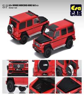 Mercedes Benz  - G63 AMG 2019 red - 1:64 - Era - Era204x4SP29 - Era204x4SP29 | The Diecast Company