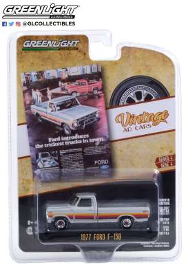 Ford  - F-150 1977 grey - 1:64 - GreenLight - 39060B - gl39060B | The Diecast Company