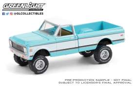 Chevrolet  - K10 1972 turquoise - 1:64 - GreenLight - 37220D - gl37220D | The Diecast Company