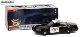Ford  - Crown Victoria 2008 white/black - 1:24 - GreenLight - 85523 - gl85523 | The Diecast Company