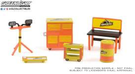diorama Accessoires - orange/black - 1:64 - GreenLight - 16080A - gl16080A | The Diecast Company