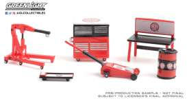 diorama Accessoires - red/black - 1:64 - GreenLight - 16080C - gl16080C | The Diecast Company